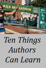 Ten Things Authors can Learn from Marathoners